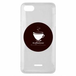 Чехол для Xiaomi Redmi 6A #CoffeLover
