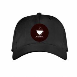 Детская кепка #CoffeLover