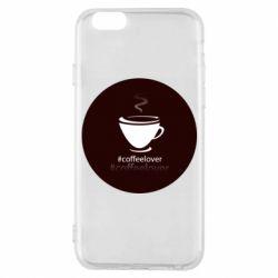 Чехол для iPhone 6/6S #CoffeLover
