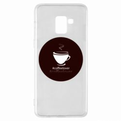 Чехол для Samsung A8+ 2018 #CoffeLover