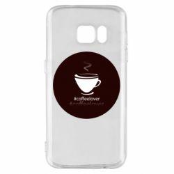 Чехол для Samsung S7 #CoffeLover
