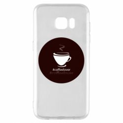 Чехол для Samsung S7 EDGE #CoffeLover