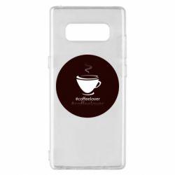 Чехол для Samsung Note 8 #CoffeLover