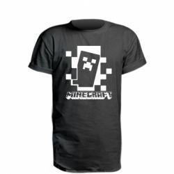 Подовжена футболка Color Minecraft