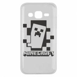 Чохол для Samsung J2 2015 Color Minecraft