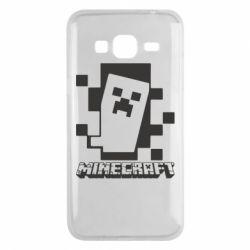 Чохол для Samsung J3 2016 Color Minecraft