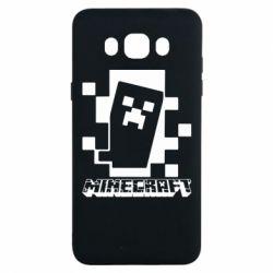 Чохол для Samsung J7 2016 Color Minecraft
