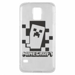Чохол для Samsung S5 Color Minecraft