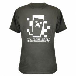 Камуфляжна футболка Color Minecraft
