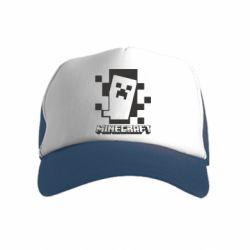Дитяча кепка-тракер Color Minecraft