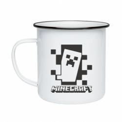 Кружка емальована Color Minecraft