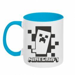 Кружка двоколірна 320ml Color Minecraft