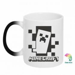 Кружка-хамелеон Color Minecraft