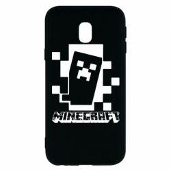 Чохол для Samsung J3 2017 Color Minecraft