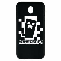 Чохол для Samsung J7 2017 Color Minecraft