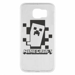 Чохол для Samsung S6 Color Minecraft