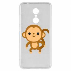 Чехол для Xiaomi Redmi 5 Colored monkey