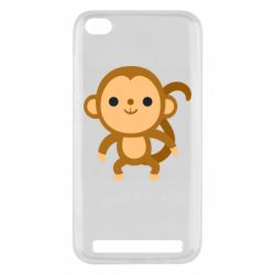 Чехол для Xiaomi Redmi 5a Colored monkey