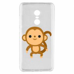 Чехол для Xiaomi Redmi Note 4 Colored monkey