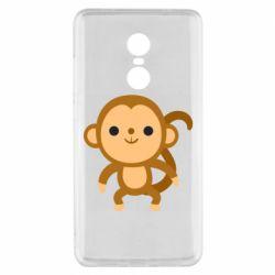 Чехол для Xiaomi Redmi Note 4x Colored monkey