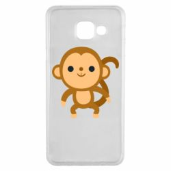 Чохол для Samsung A3 2016 Colored monkey
