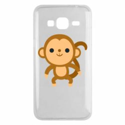 Чохол для Samsung J3 2016 Colored monkey