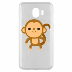 Чохол для Samsung J4 Colored monkey