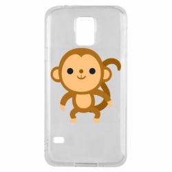 Чохол для Samsung S5 Colored monkey