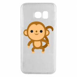 Чохол для Samsung S6 EDGE Colored monkey