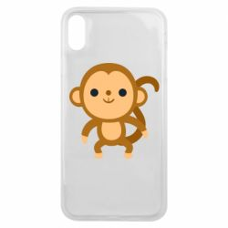 Чохол для iPhone Xs Max Colored monkey