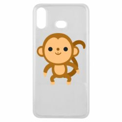 Чохол для Samsung A6s Colored monkey