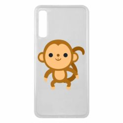 Чохол для Samsung A7 2018 Colored monkey