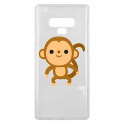 Чохол для Samsung Note 9 Colored monkey