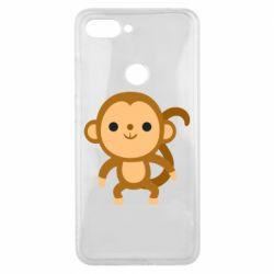 Чехол для Xiaomi Mi8 Lite Colored monkey
