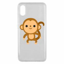 Чехол для Xiaomi Mi8 Pro Colored monkey