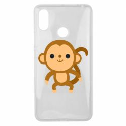 Чехол для Xiaomi Mi Max 3 Colored monkey