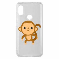 Чехол для Xiaomi Redmi Note 6 Pro Colored monkey
