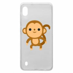 Чохол для Samsung A10 Colored monkey