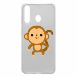 Чохол для Samsung A60 Colored monkey