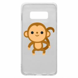 Чохол для Samsung S10e Colored monkey