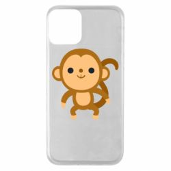 Чохол для iPhone 11 Colored monkey