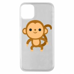 Чохол для iPhone 11 Pro Colored monkey