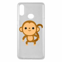 Чохол для Samsung A10s Colored monkey