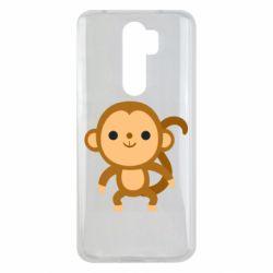 Чехол для Xiaomi Redmi Note 8 Pro Colored monkey