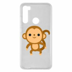 Чехол для Xiaomi Redmi Note 8 Colored monkey