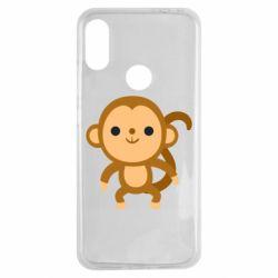 Чехол для Xiaomi Redmi Note 7 Colored monkey