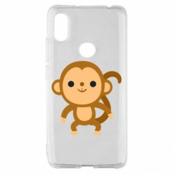 Чехол для Xiaomi Redmi S2 Colored monkey