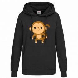 Толстовка жіноча Colored monkey