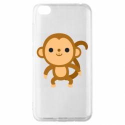Чехол для Xiaomi Redmi Go Colored monkey