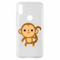 Чехол для Xiaomi Mi Play Colored monkey